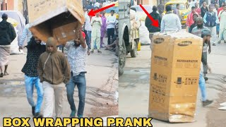 BOX WRAPPING PEOPLE PRANK PART 3! || PRANK IN INDIA || MOUZ PRANK