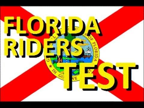 Flashbacks: Florida Motorcycle Riding Test