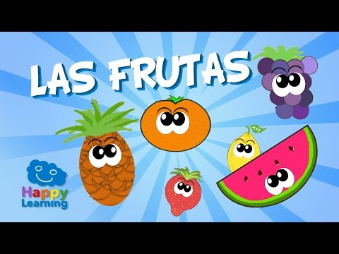 Fruits in Spanish for Children | Learn Spanish