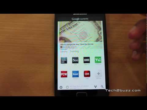 Google Currents Magazine style reading app for Android like Flipboard