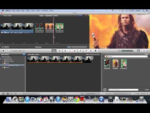 iMovie 9 Basics Tutorial #6 Importing Photos into Timeline