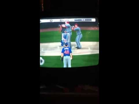 MLB 2k11 glitch(2 players)