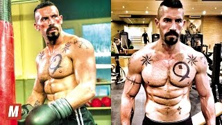 Scott Adkins (Yuri Boyka) Training Highlights Compilation. Gym workout routine, kick Training and motivation. In this tribute you will see best crazy skills, kick tutorial, boxing, mma and weight training by action movie star Scott Adkins (Yuri Boyka) by TheMaster (mmamaster).  Subscribe now! Click here:  http://goo.gl/x1ngVA  Scott Edward Adkins is an English actor and martial artist who is best known for playing Yuri Boyka in Undisputed II: Last Man Standing and Undisputed III: Redemption, Bradley Hume in Holby City, Ed Russell in Mile High and as Hector in The Expendables 2. Adkins has also appeared in Dangerfield, Hollyoaks, The Tournament TV series and many others, as well as many films.  Idolising stars such as Bruce Lee and Jean-Claude Van Damme, Scott began to train everyday. He took over his Dad