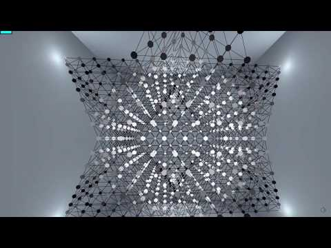 See inside the universe in this stunning light sculpture