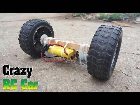 How to make Crazy RC Car two wheel