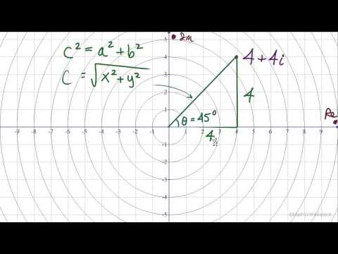Complex Numbers in Trig Notation - Part 2 (Trigonometric Notation)