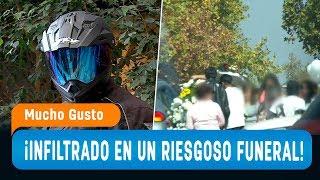 Periodista se infiltró en funeral de alto riesgo - Mucho Gusto 2019