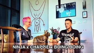 Trailer: Ninja of Die Antwoord talks CHAPPiE with Boing Boing