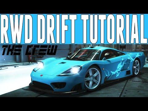 The Crew Drift Tutorial : How to Build the Best (RWD) Drift Car - RWD Drift Tutorial