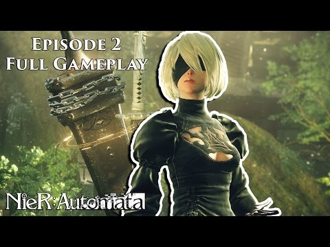 NieR Automata - EP 2 - 9S Has Trouble Speaking