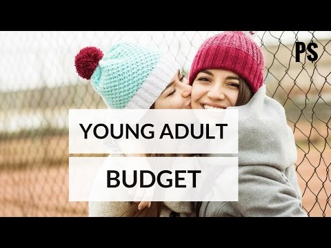 Budget Worksheet for Young Adults - Professor Savings