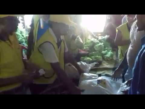 Distribution Of Food By Lions Club In Assam
