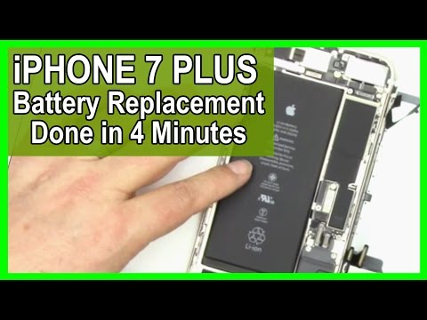 iPhone 7 Plus Battery Repair & Replacement In 4 minutes