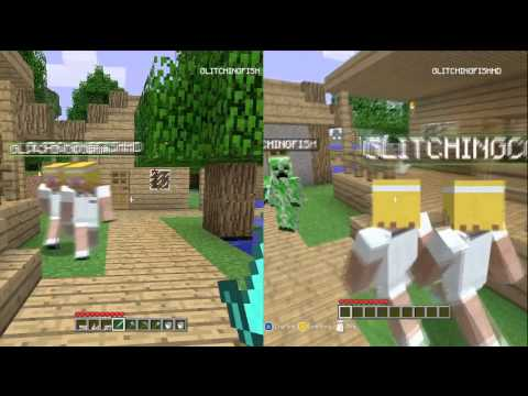Minecraft Xbox 360 Glitch How To Clone Your Character Tutorial (Split Screen/Offline)