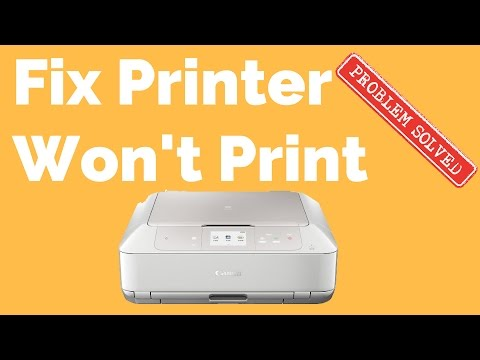 How To Fix A Printer That Wont Print,__SQQ - Watch Best Video