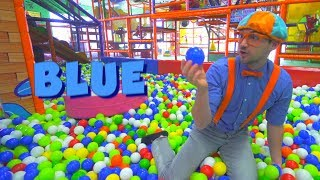 Blippi at the Play Place and Learn Colors Compilation | Safe Educational Videos for Children
