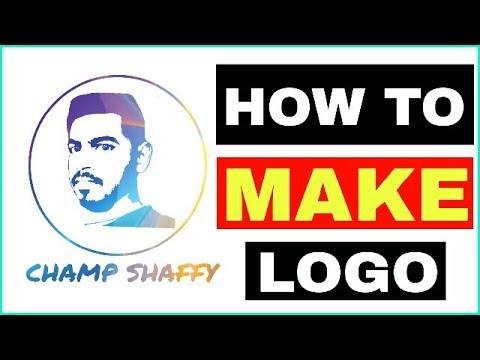 how to make face logo picsart