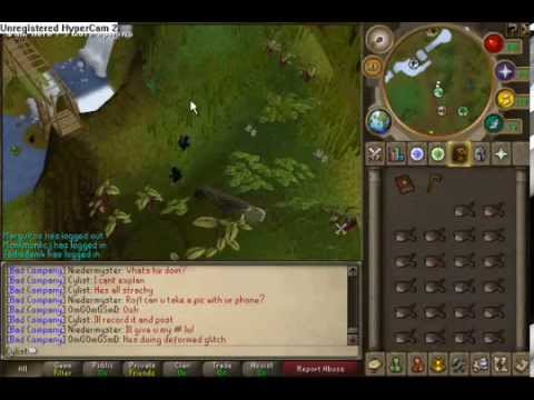 RuneScape: Monkey greegree glitch