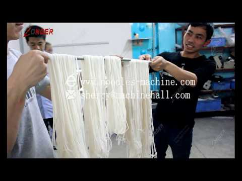 High Efficiency Semi-Automatic Rice Noodle Making Machine