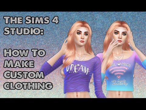 Sims 4 Studio Tutorial:  How To Easily Create Custom Clothing