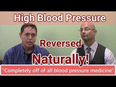 Reversing High Blood Pressure Naturally