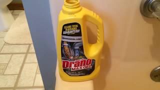 Tub Clogged Shower Tub Won T Drain Easy Fix With Drano