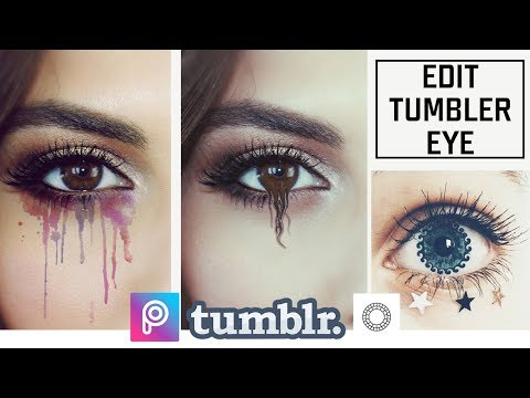 TUMBLR EFFECTS YOU CAN DO WITH PICSART APP | TUMBLR EYE EDITS
