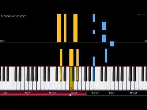 Dua Lipa - Swan Song (From Alita: Battle Angel) - EASY Piano Tutorial