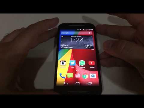Review Motorola Moto G 2014: Antutu, vídeos, musica, gps, juegos....