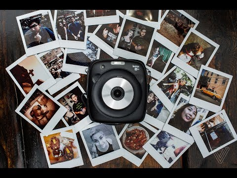 Fujifilm Instax Square SQ10 review