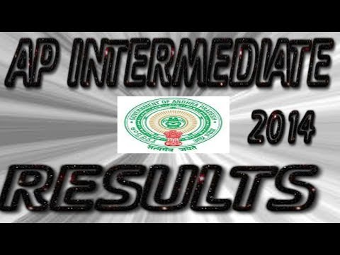 AP Intermediate - 1st Year & 2nd Year - 2014 - Results Check Online