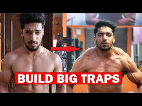 How To BUILD BIG TRAPS Workout | Top 4 Killer Exercise