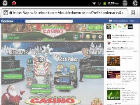 Impression Tablet I10-80 Facebook Game