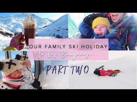 FAMILY SKI TRIP LES BRUYERES WITH SKI FAMILLE- PART TWO
