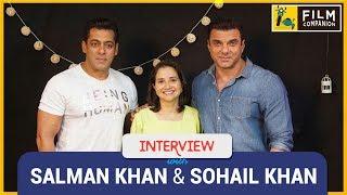Salman Khan & Sohail Khan Interview with Anupama Chopra | Tubelight