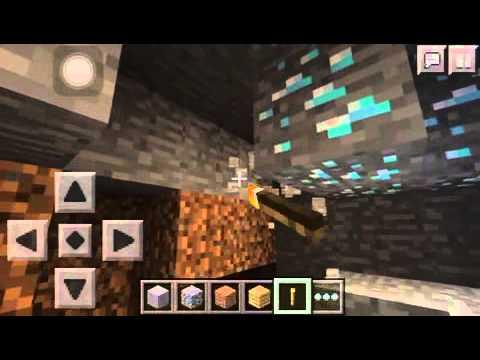 Minecraft PE diamond seed (0.10.0-0.10.4