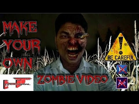 How to create own zombie video by android mobile.