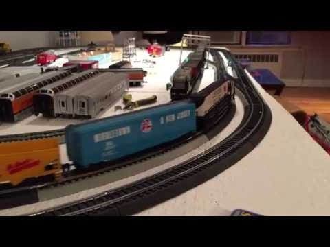 HO scale 4x8 beginners layout