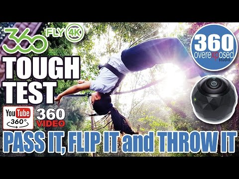 360Fly4K Tough Test - Pass It, Flip It and Throw It