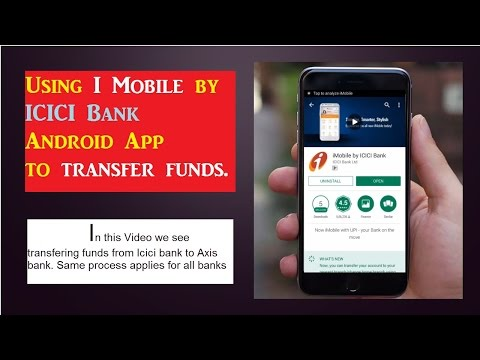 Transfer money from ICICI bank account to Axis account-ICICI Internet Banking