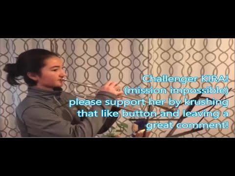 CHALLENGER KIRA  mission impossible trumpet challenge by Kurt Thompson