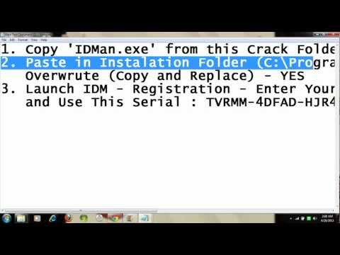 CRACK INTERNET DOWNLOAD MANAGER (crack+file) idm free 6.07