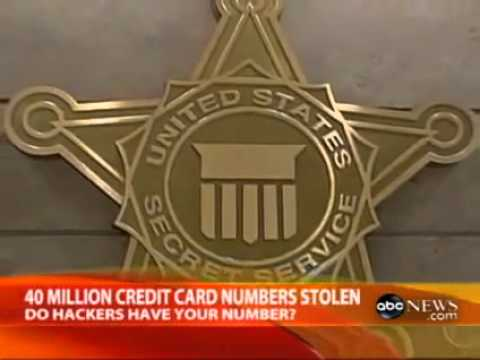 40 Million Credit Card Numbers Stolen