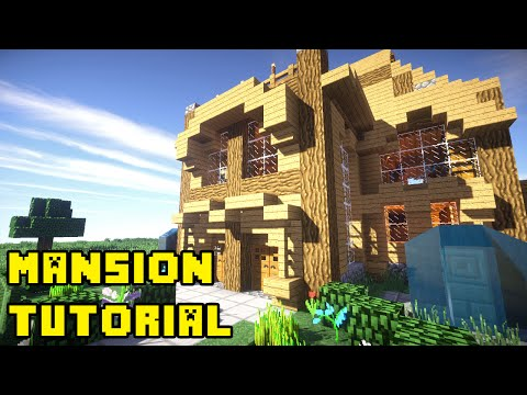 Minecraft: Mansion Tutorial Xbox/PE/PC/PS3/PS4