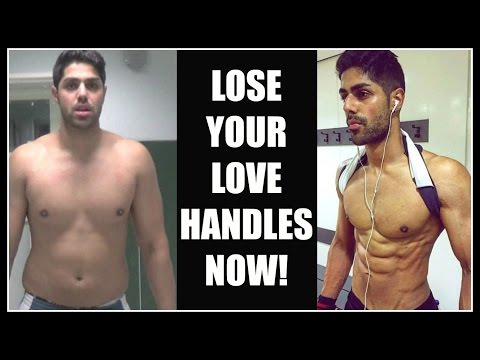 How I Lost My LOVE HANDLES And Got RIPPED!