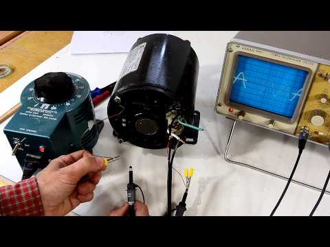 Reversing single phase induction motors