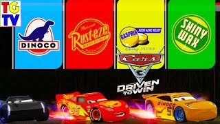 Cars 3 Driven to Win - Lightning McQueen & Cruz VS Jackson Storm Pro Mixed Race Cup