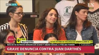 Thelma Fardín responde preguntas sobre el episodio con Juan Darthes
