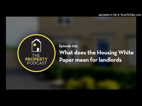 TPP205 What does the Housing White Paper mean for landlords