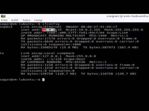 How to find ip address in Unix